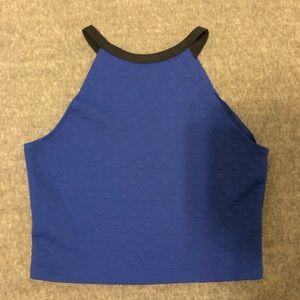 Blue Sally Miller top to set, tank top